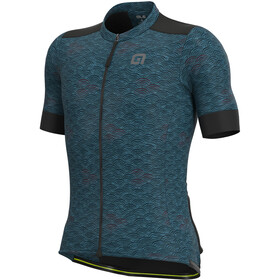 Alé Cycling Off-Road Gravel Joshua SS Jersey Men blue waves